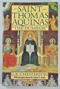 Saint Thomas Aquinas, 'The Dumb Ox'